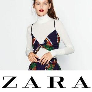 Zara | Front Tie Crop Top